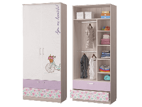 Шкаф для одежды с ящиками Адель