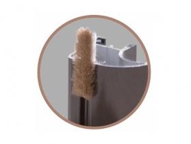 Шкаф-купе Домашний Шлегель - комплект щеток для шкафа-купе