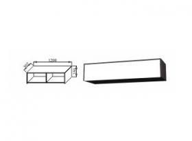 Шкаф навесной 1200 К-02 Куб