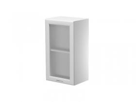 Шкаф навесной со стеклом Герда на 400 ШН40-7В-У 400х300х720