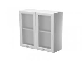 Шкаф навесной со стеклом Герда на 800 ШН80-7В-2 800х300х720 мм