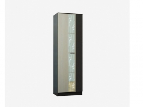 Шкаф платяной Сабина СШ-700 венге-дуб белфорт