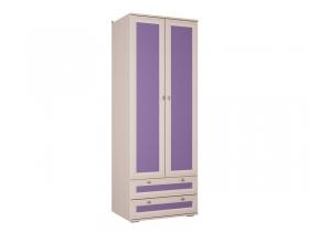 Шкаф с ящиками Бриз Фиолетовый