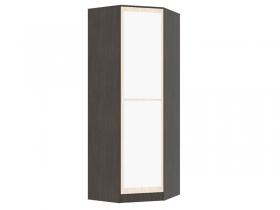 Шкаф угловой с зеркалом Вега ШКУ венге-дуб беленый