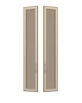 София СТЛ 3 СТЛ.098.27 Двери со стеклом 2 шт для СТЛ.098.02-04 295х21х1580