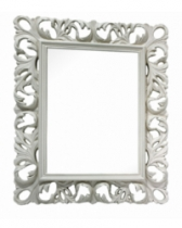 Спальня Амели Ярцево Зеркало прямоугольное Амели 809 бежевое ШхГхВ 860х1070