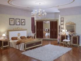 Спальня классическая Версаль 2 орех тайский