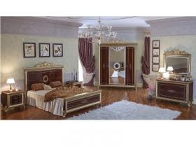 Спальня классическая Версаль 2 орех тайский Дополнительная комплектация