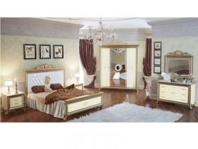 Спальня классическая Версаль слоновая кость
