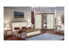 Спальня классическая Версаль слоновая кость Дополнительная комплектация