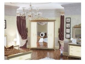 Спальня классическая Версаль СВ-1 Шкаф 4-х дверный без Короны