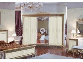 Спальня классическая Версаль СВ-2 Шкаф 6-и дверный без Короны