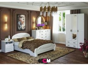Спальня Медина дуб анкор-дуб белый