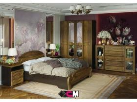 Спальня Медина венге-дуб санремо шоколад