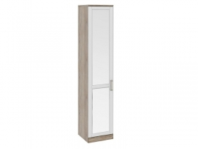 Спальня Прованс Шкаф для белья с зеркальной дверью левый СМ-223.07.022L 2178х450х440