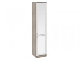Спальня Прованс Шкаф для белья с зеркальной дверью правый СМ-223.07.022R 2178х450х440