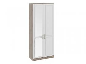 Спальня Прованс Шкаф для одежды с глухой и зеркальной дверями левый СМ-223.07.025L 2178х900х440