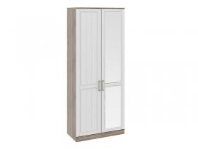 Спальня Прованс Шкаф для одежды с глухой и зеркальной дверями правый СМ-223.07.025R 2178х900х440