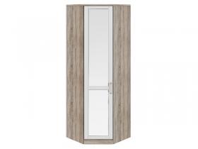 Спальня Прованс Шкаф угловой с 1-ой зеркальной дверью левый СМ-223.07.027L 2178х753х753 мм
