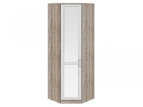 Спальня Прованс Шкаф угловой с 1 зеркальной дверью левый СМ-223.07.007L 2178х896х896 мм