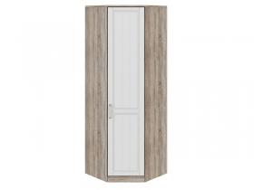 Спальня Прованс Шкаф угловой с 1 зеркальной дверью правый СМ-223.07.007R 2178х896х896 мм