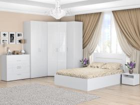 Спальня Тиффани Эко Белый снег