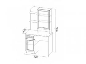 Спальня Вега СВ ВМ-17 Туалетный стол