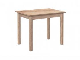 Стол обеденный прямая нога дуб золотистый