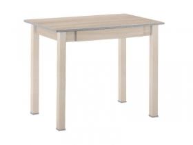 Стол обеденный с ящиком прямая нога