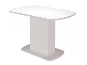 Стол обеденный Соренто белый глянец