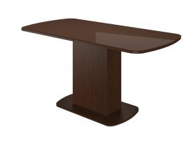 Стол раздвижной Соренто-2 шоколад глянец