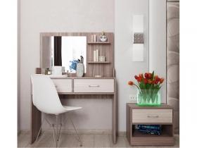 Стол туалетный с зеркалом Соната СТ-2