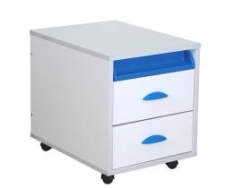 Тумба ТУВ 01-01 Белый синий