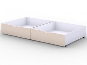 Ящики выкатные для кровати Viki Бежевый