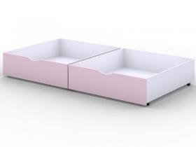 Ящики выкатные для кровати Viki Розовый
