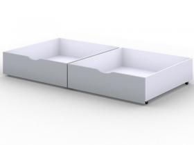Ящики выкатные для кровати Viki Серый